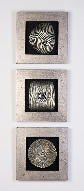 Casablanca Wandbild Versity aus Holz & Glas - 3 Bilder