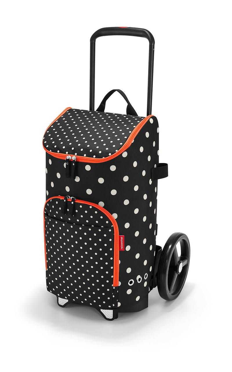 reisenthel® citycruiser rack + bag 45l mixed dots