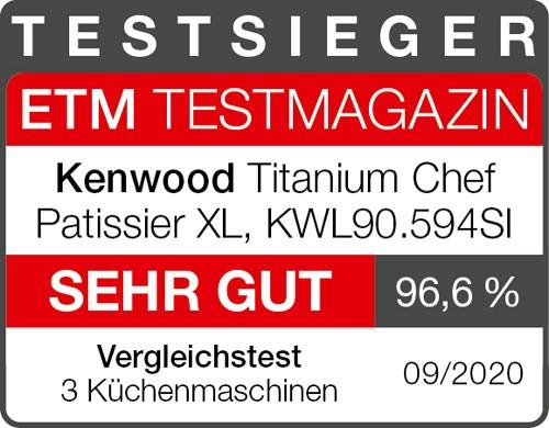 Kenwood Testsieger Titanium Chef