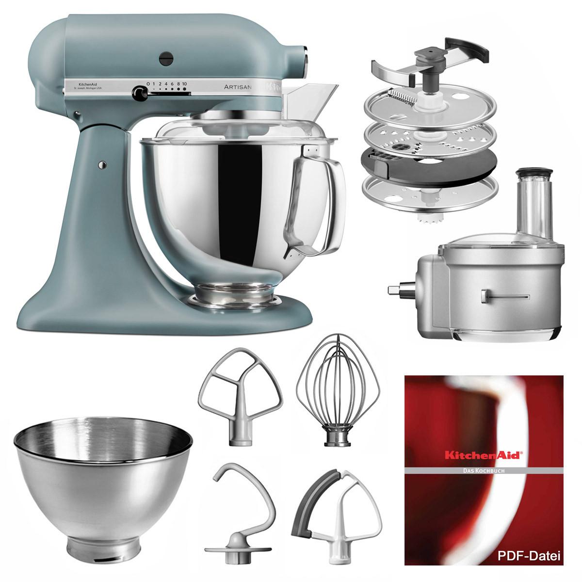 KitchenAid Küchenmaschine 175PS Foodprocessor Set