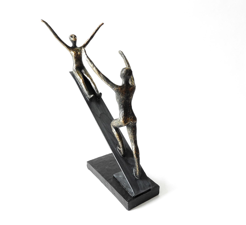 Rutsche ins Lebensglück - Skulptur von Casablanca Design