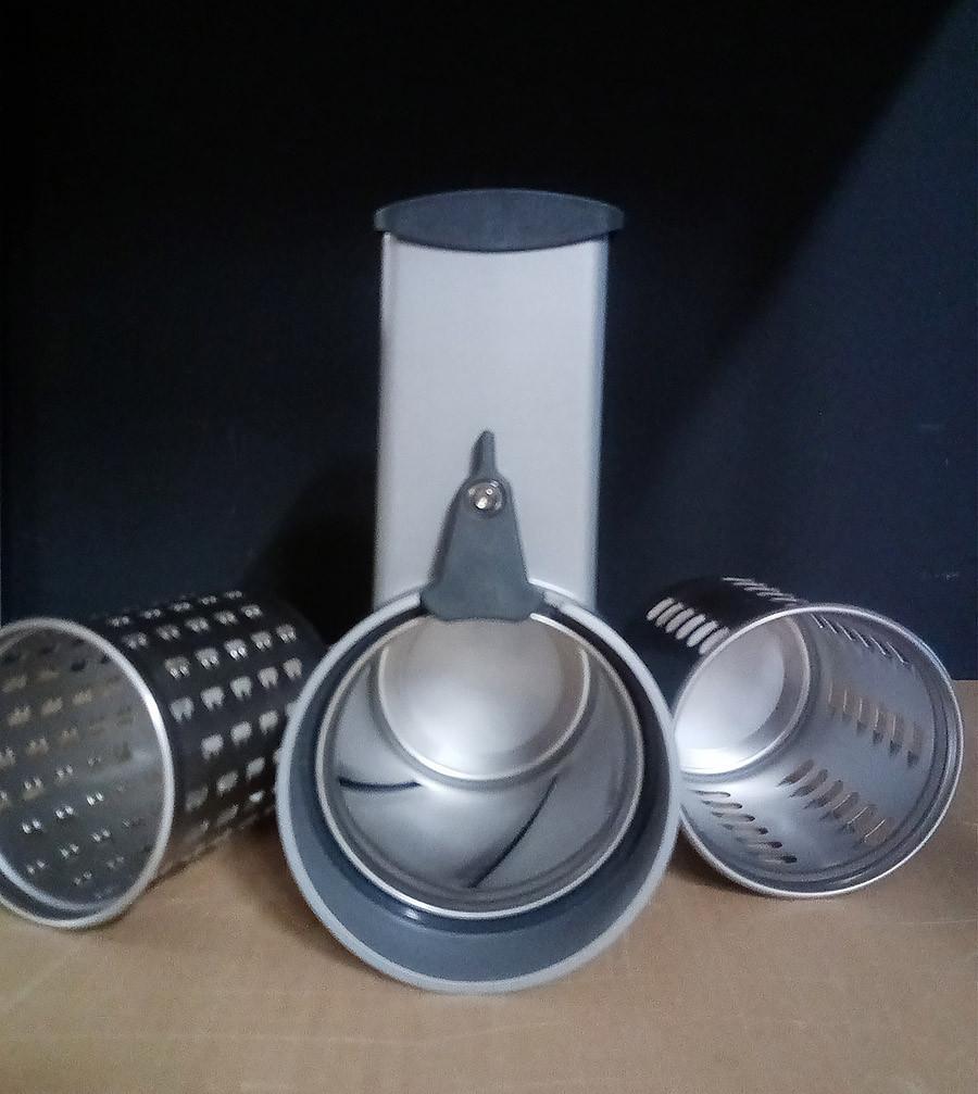 Messerschmidt Gemüseschneider Metall MVSA für alle KitchenAid Küchenmaschinen