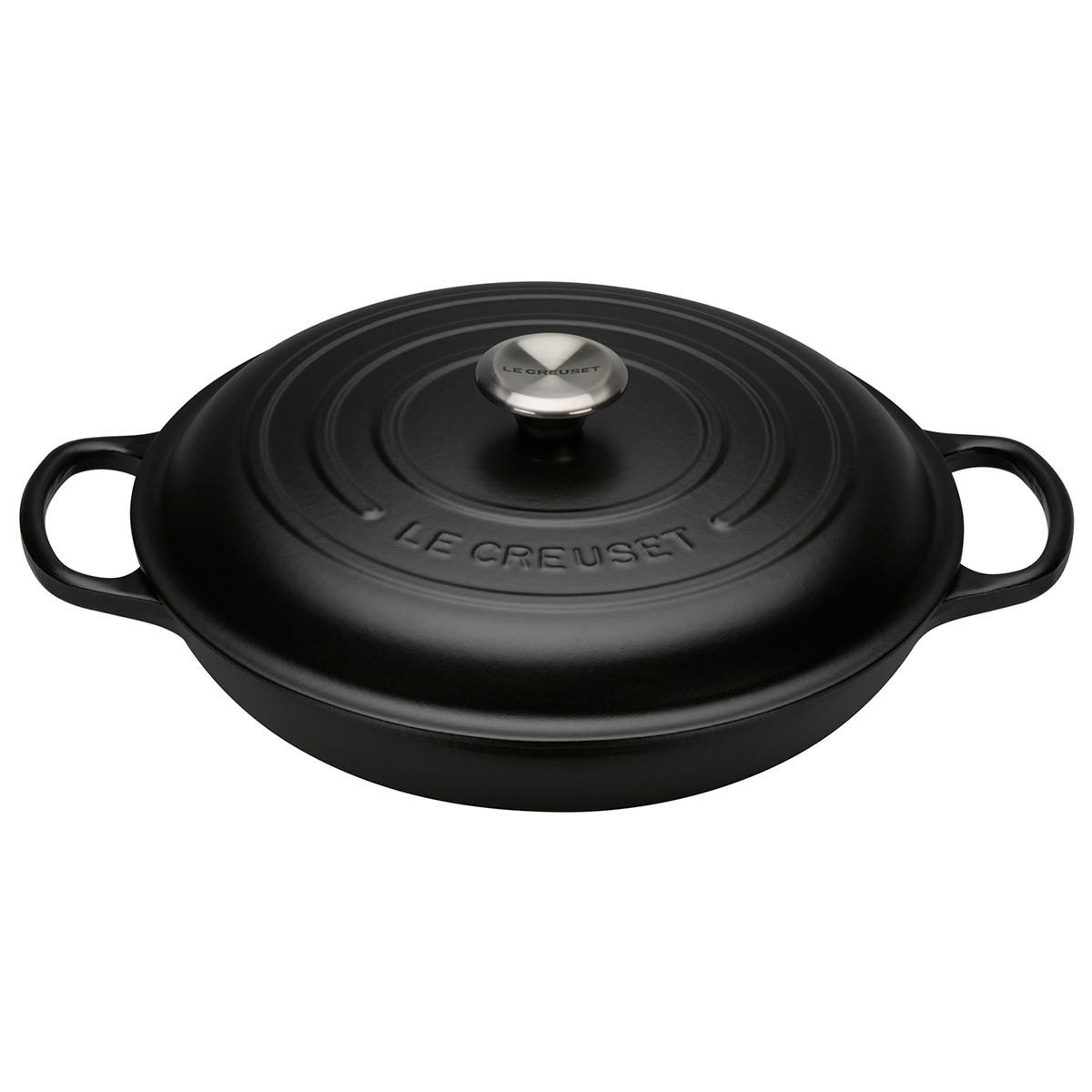 Le Creuset Signature Gourmet-Profitopf 30 cm schwarz