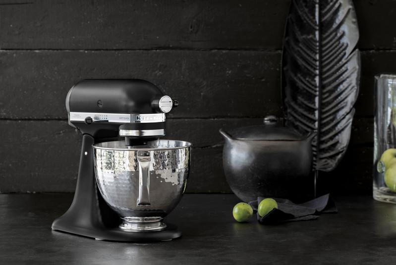 KitchenAid Artisan Küchenmaschine matt schwarz 5KSM156HMEBM Edition 4,8l