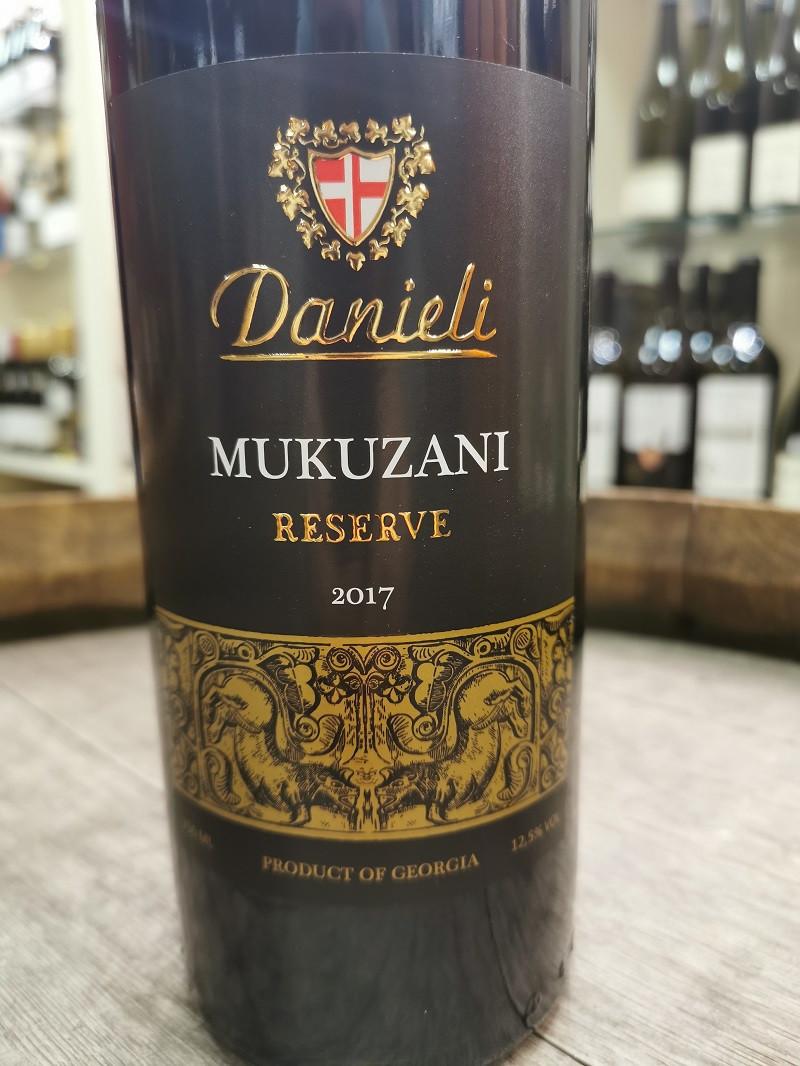 Danieli Mukuzani Reserve 2017 - Gerogischer Rotwein