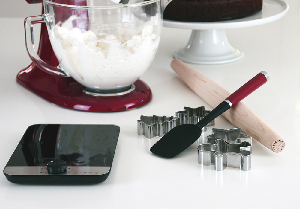 KitchenAid X-MAS Backset KX403BX inkl. Glaswaage, Set im Überblick