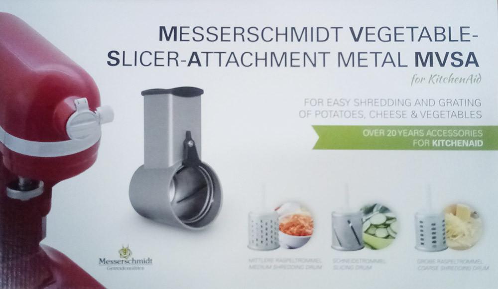 Messerschmidt Gemüseschneider Metall MVSA für alle KitchenAid