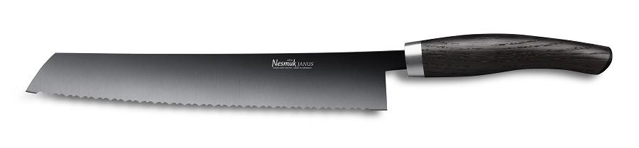 NESMUK JANUS Brotmesser 270 Mooreiche