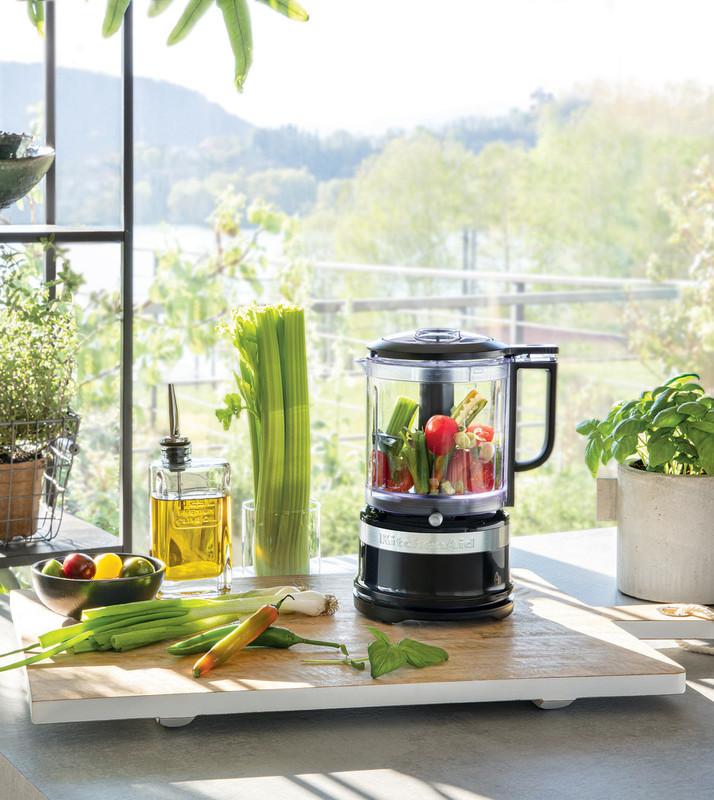 KitchenAid Zerhacker Zerkleinerer 1,19 L matt schwarz