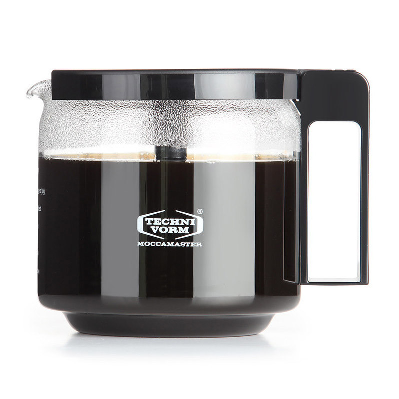 Moccamaster Kaffeemaschine KBG Select Pastellgelb, Kaffeekanne Detail