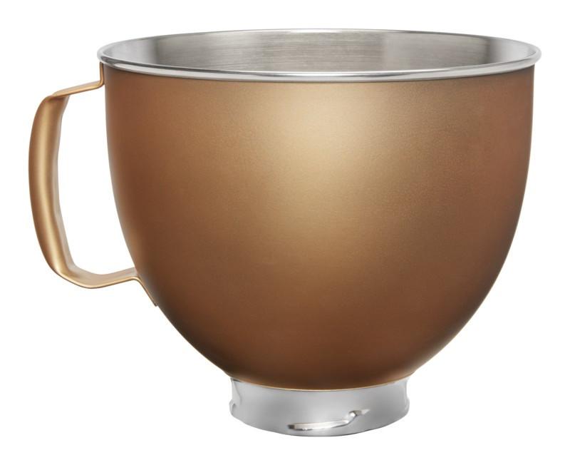 KitchenAid Edelstahlschüssel copper pearl Kupfer 4,8l