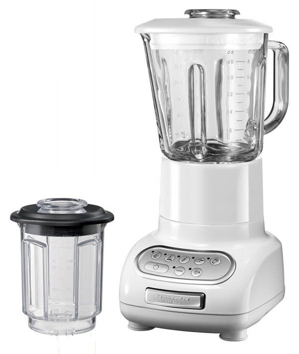 KitchenAid Artisan Standmixer weiss mit Mixbehälter