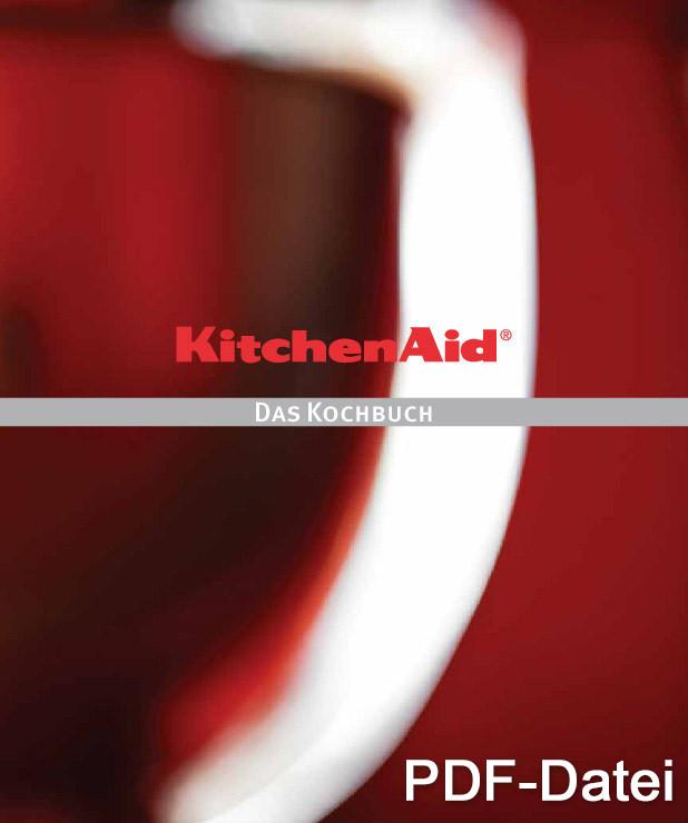 Kochbuch für Kitchen Aid Küchenmaschinen als PDF-Datei erhältlich