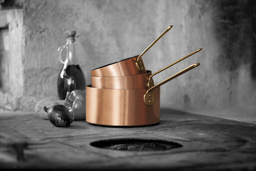 Kupfermanufaktur Weyersberg Stielkasserolle Kupfertopf 14 cm, 4601-14, 4250049950750