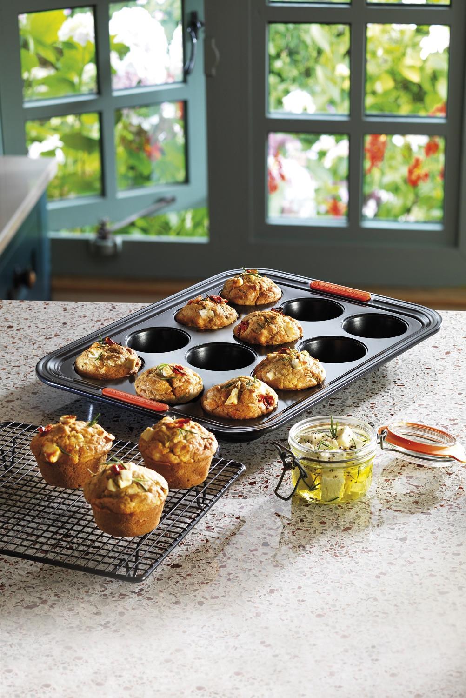 Le Creuset 12er Mini Muffinform - Muffins backen