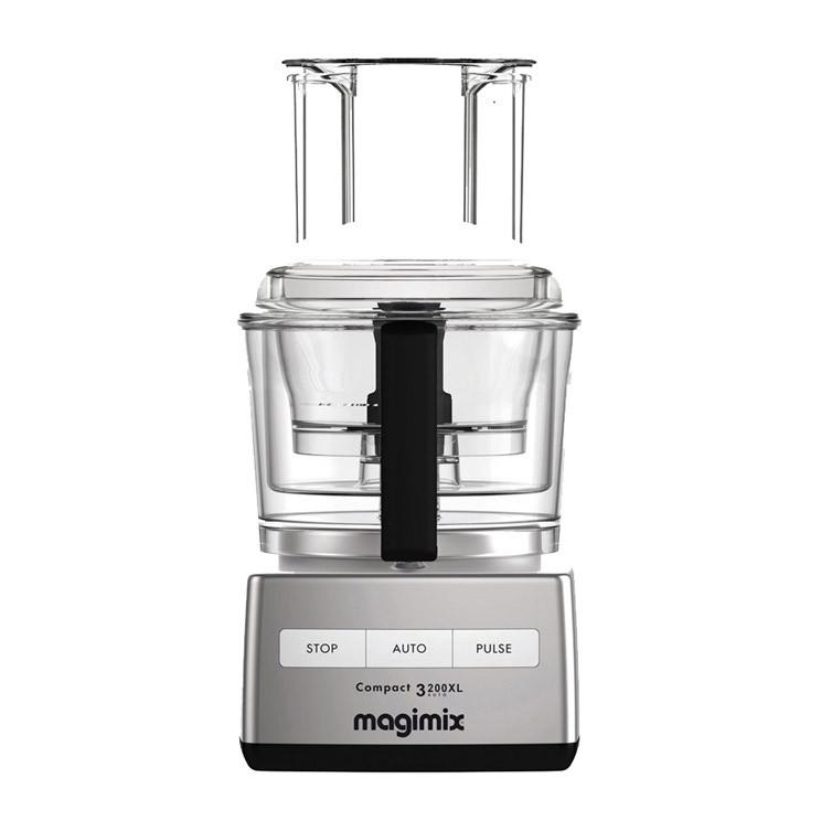 Magimix Compact 3200 XL Küchenmaschine - kompakt aber oho!