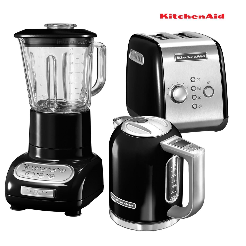 KitchenAid Set Wasserkocher + Toaster + Standmixer