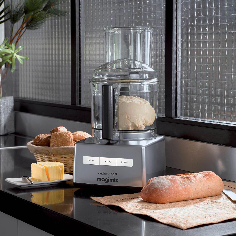 Magimix Cuisine Système 5200XL - Haken, Mixen, Kneten, Rühren und mehr