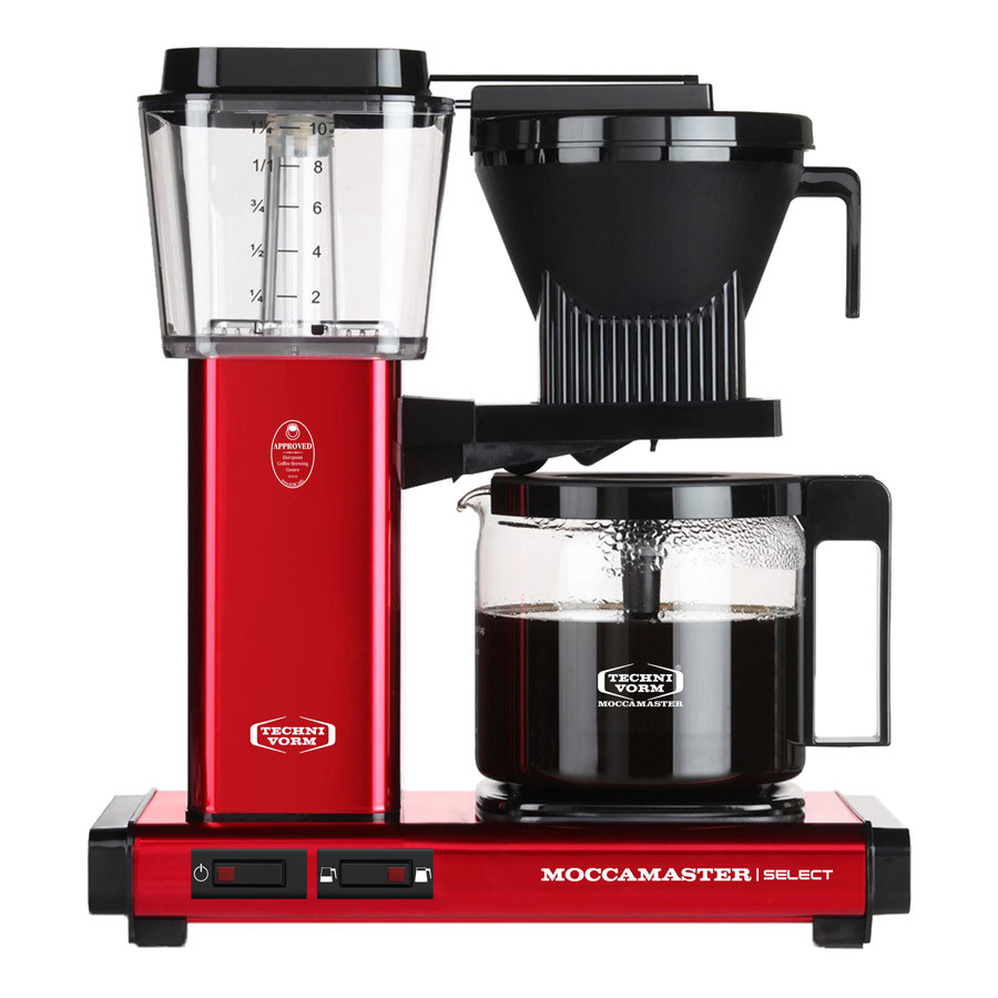 Moccamaster Kaffeemaschine KBG Select Rot Metallic