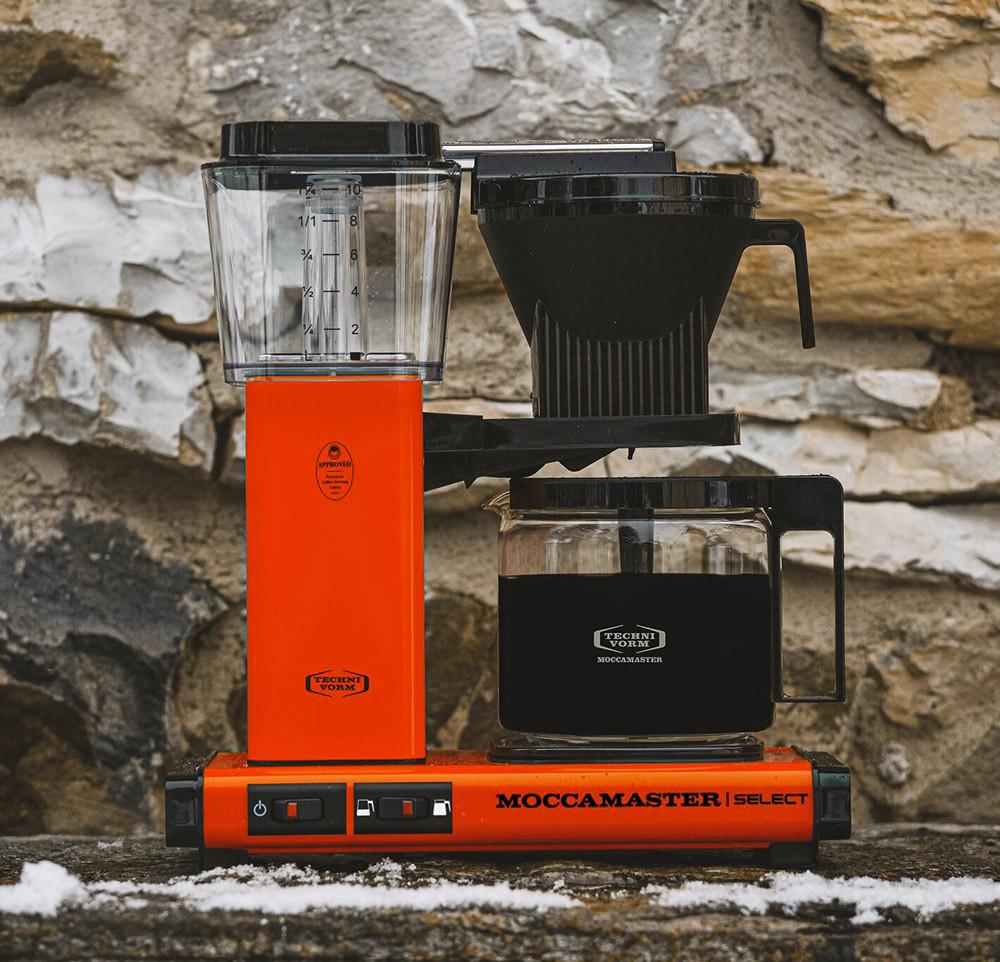 Moccamaster Kaffeemaschine KBG Select orange, 53986