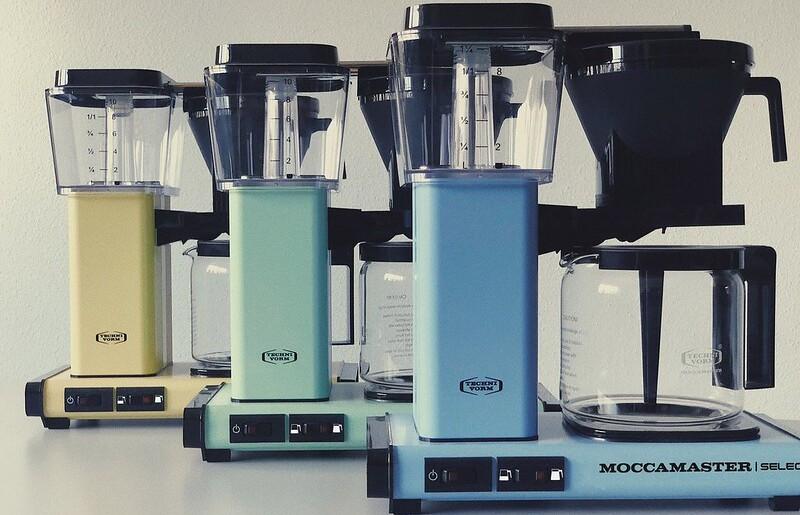 Moccamaster Kaffeemaschine KBG Select Türkis, andere Farben