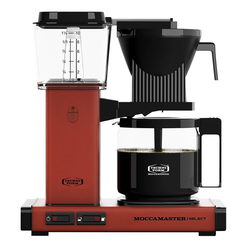 Moccamaster Kaffeemaschine KBG Select Brick Red