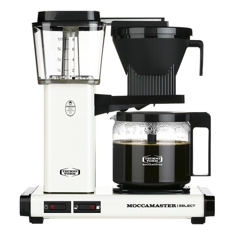 Moccamaster Kaffeemaschine KBG Select Off White