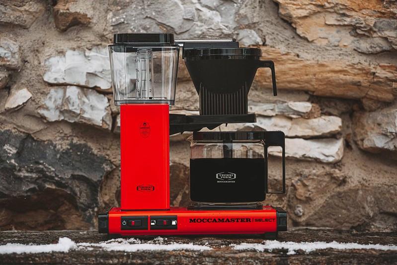 Moccamaster Kaffeemaschine KBG rot, 53988