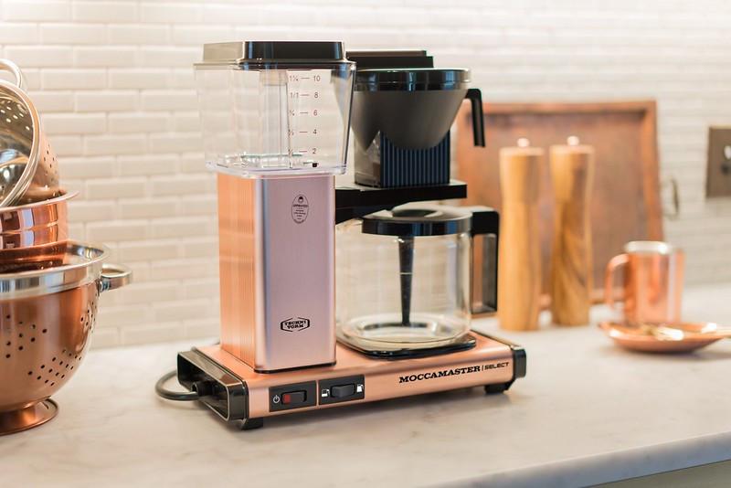 Moccamaster Kaffeemaschine KBG Select Kupfer