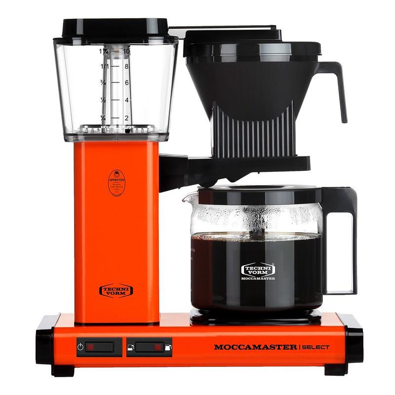 Moccamaster Kaffeemaschine KBG Select orange, 53986, 8712072539860