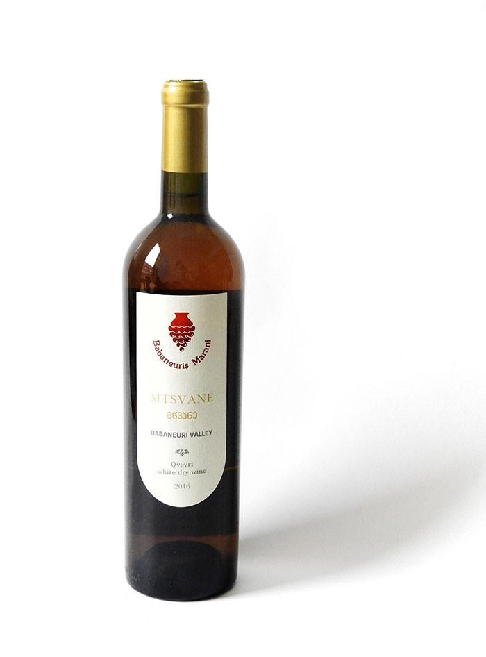 Babaneuris Marani Qvevri Mtsane - Georgischer Weißwein 0,75l trocken