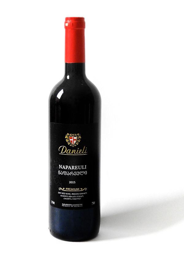 Danieli Napareuli 2015 - Georgischer Rotwein 0,75l trocken