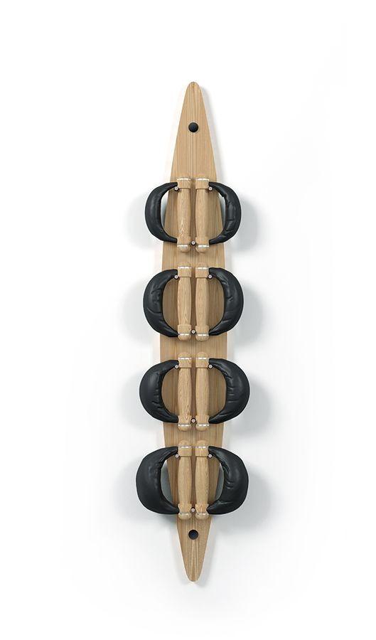 NOHrD Swing Board Esche - Hanteln aus Vollholz und Leder, 13.301, 4260263011342