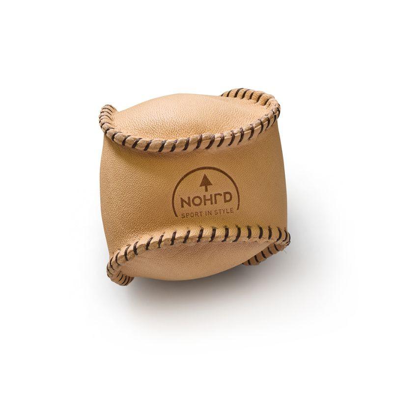 NOHrD HaptikBall handgenähter Gewichtsball aus Leder
