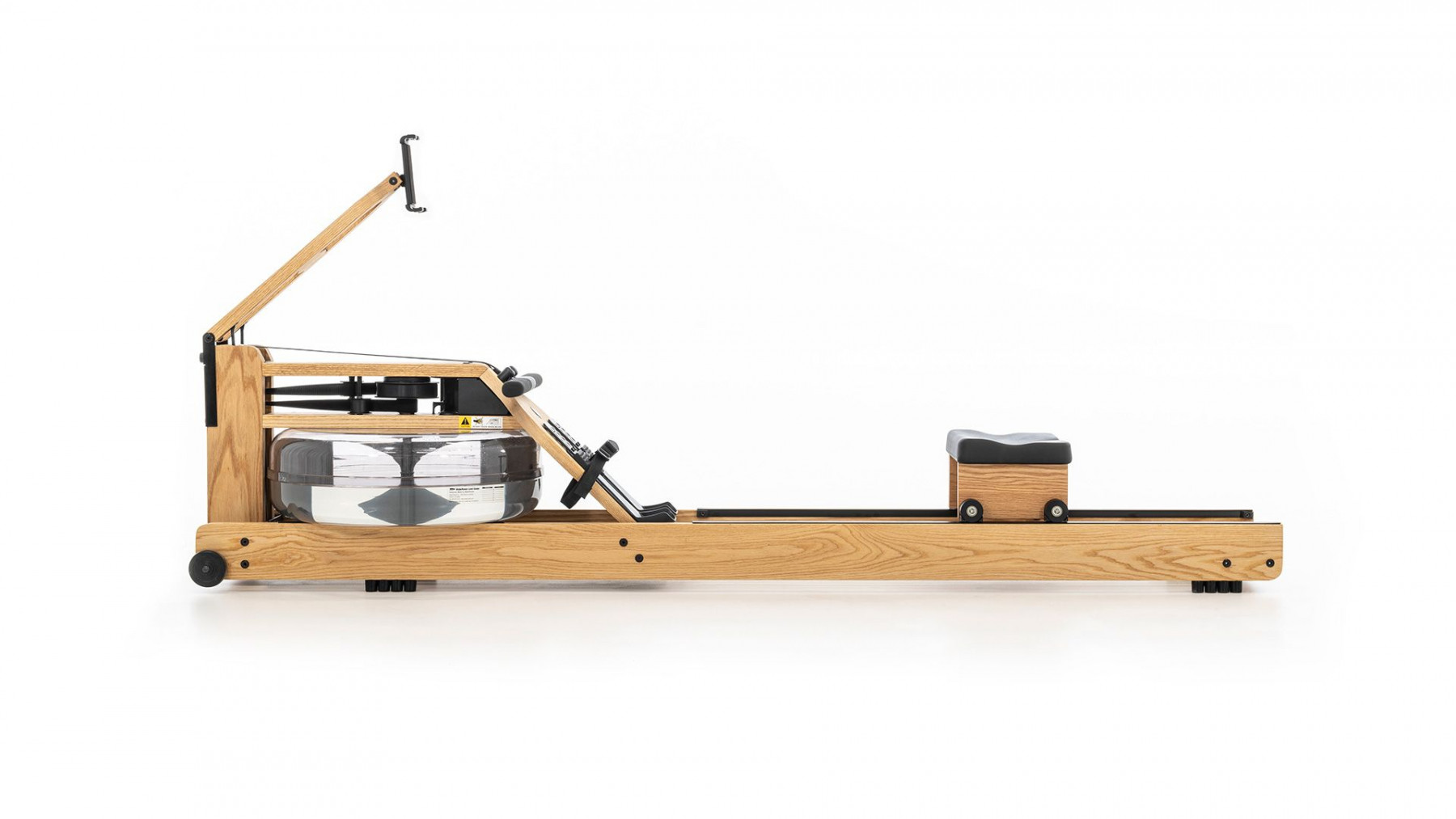 WaterRower Performance Ergometer Eiche - Rudergerät mit Wasserwiederstand, 10.126, 4260263016576