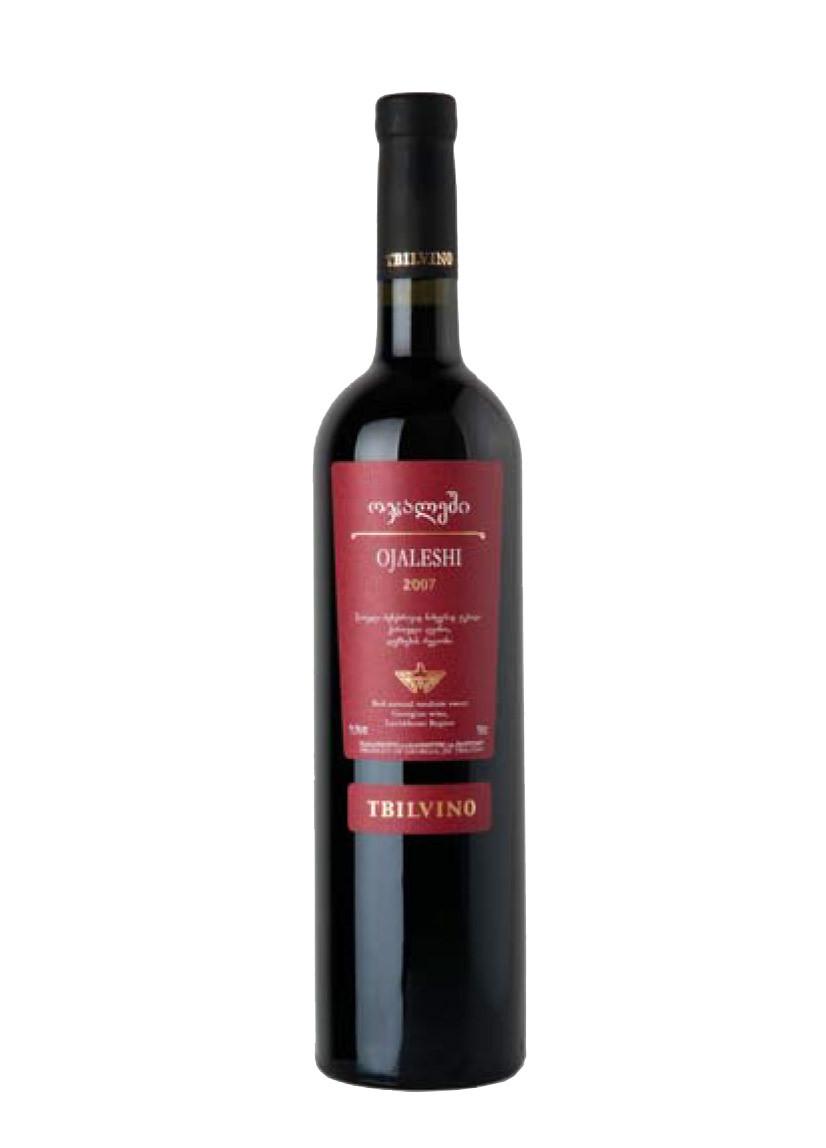 Tbilvino Ojaleshi, lieblicher Rotwein 0,75l Georgien