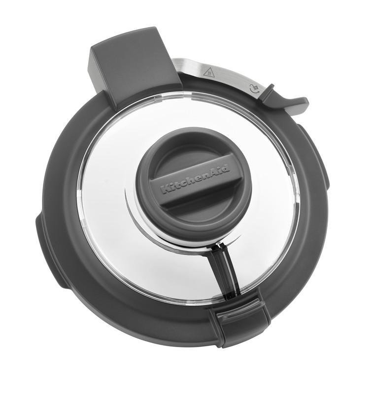 KitchenAid Artisan Cook Processor Gusseisen Schwarz Deckel
