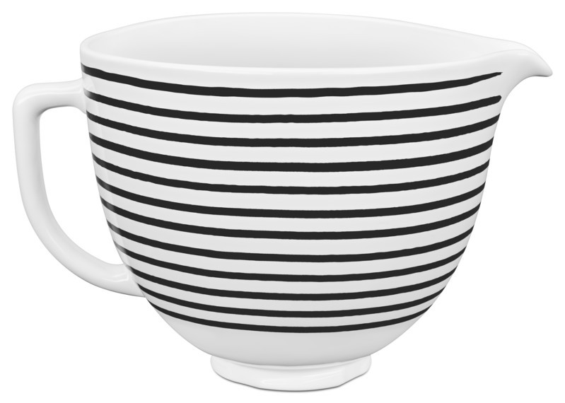 KitchenAid Keramikschüssel 4,7l Horizontal Stripes