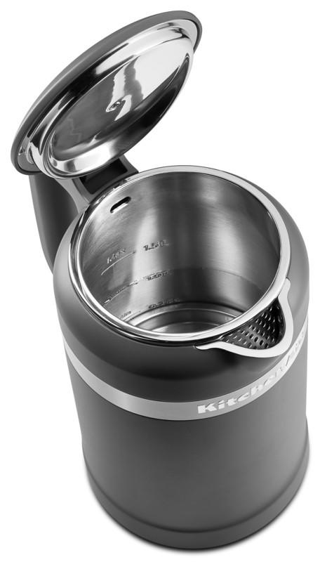 KitchenAid Design Wasserkocher 1,5 l mattschwarz