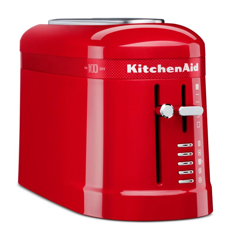 KitchenAid Loft 2-Slice Design 1-Langschlitz-Toaster rot Signature red 100Jahre Edition