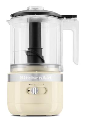 KitchenAid Kabelloser Zerkleinerer 1,2L creme, 5KFCB519EAC, 859711629970