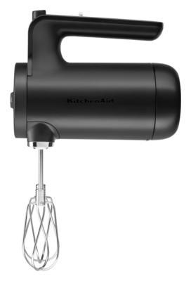 KitchenAid Kabelloser Handrührer matt schwarz, 5KHMB732EBM, 859711600520