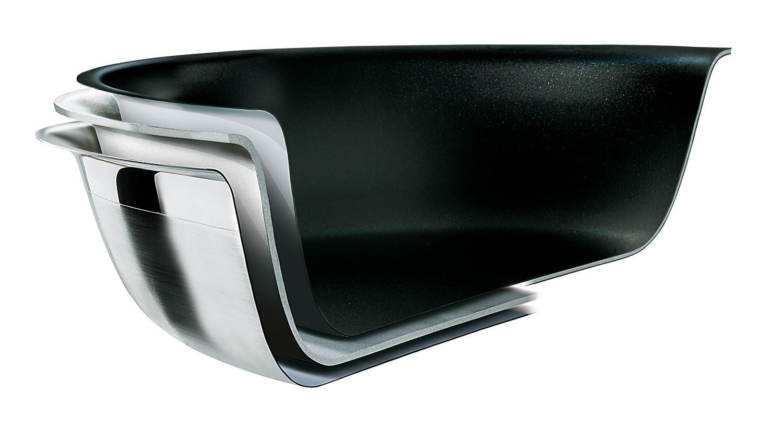 Le Creuset 3-ply Sautépfanne antihaft 24 cm
