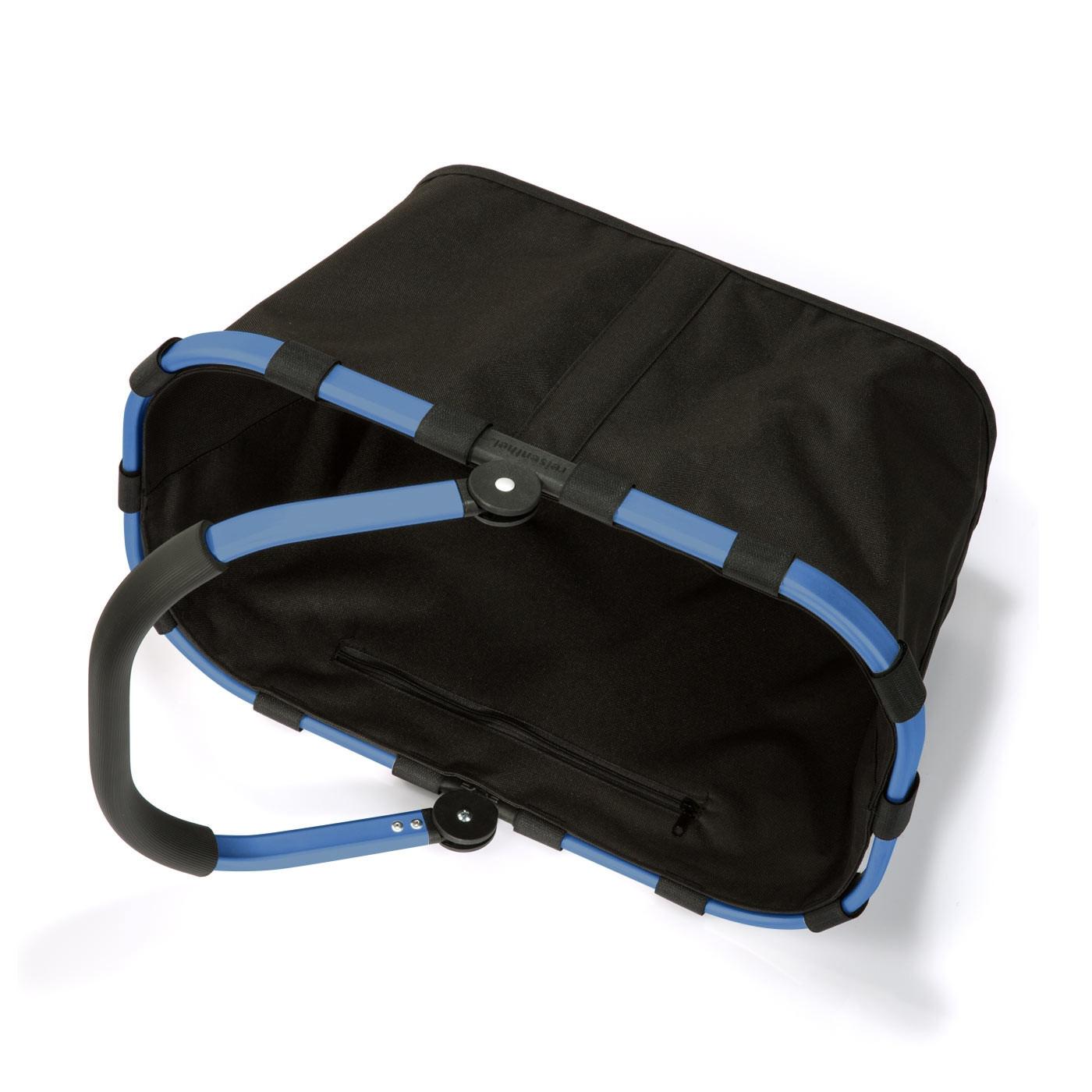 reisenthel® carrybag 22l blue frame / black BK7042 GRATIS