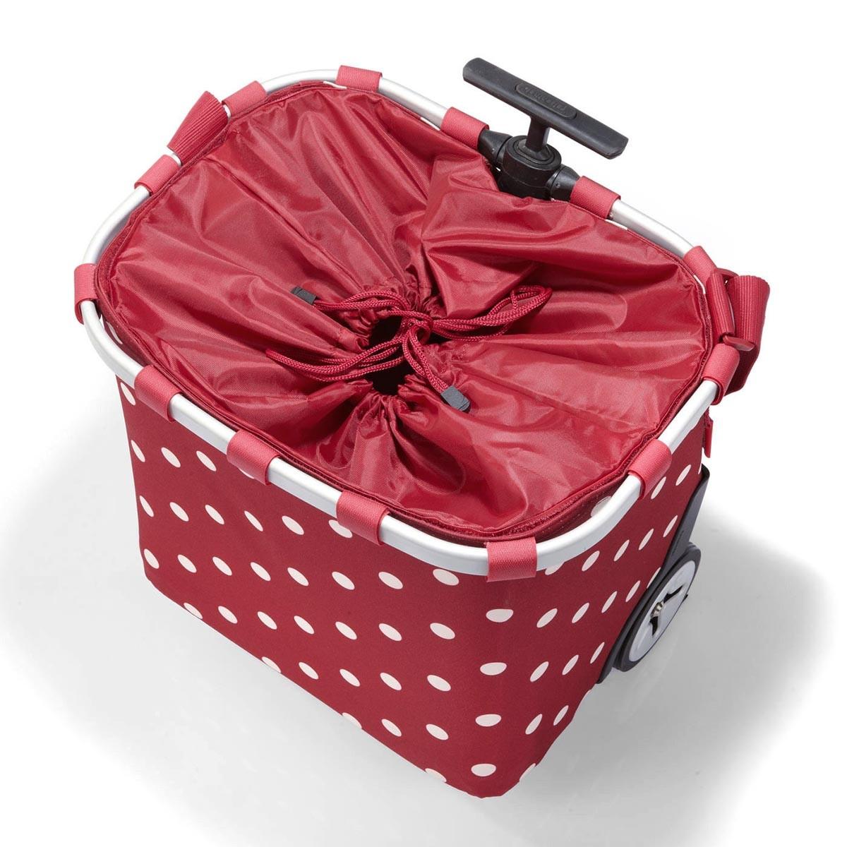 reisenthel® carrycruiser 40l ruby dots - Einkaufswagen mit Rädern