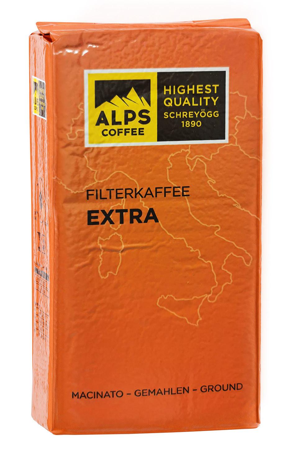 Schreyögg Alps Filterkaffee 250g gemahlen