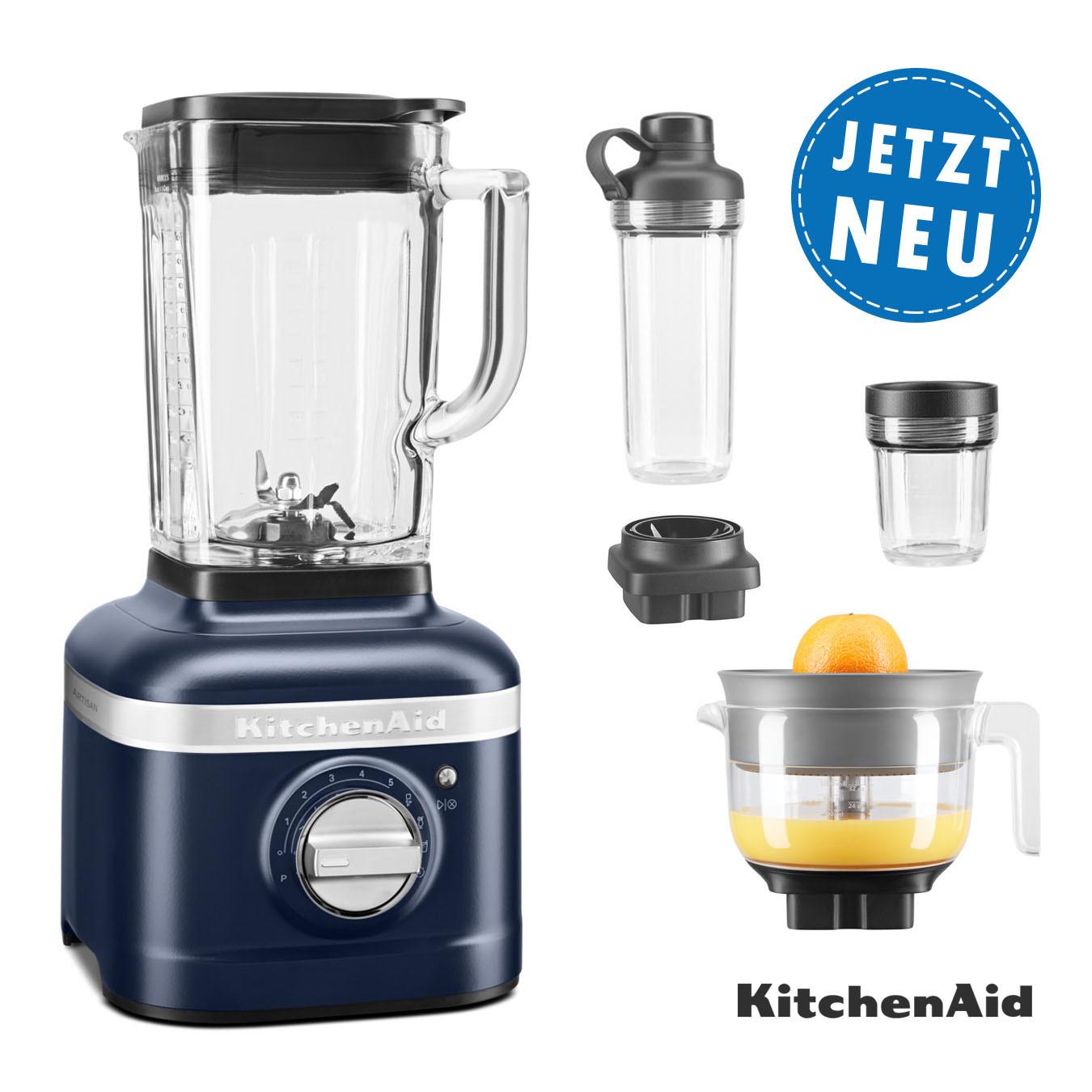 KitchenAid ARTISAN K400 Standmixer 5KSB4026EIB ink blue Sparpaket
