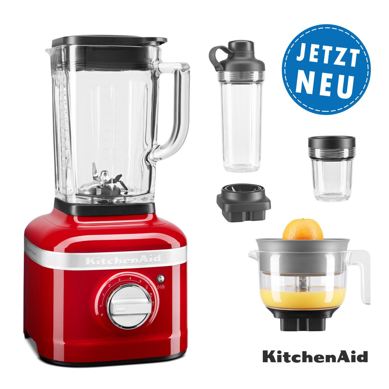 KitchenAid ARTISAN K400 Standmixer 5KSB4026EER empirerot Sparpaket