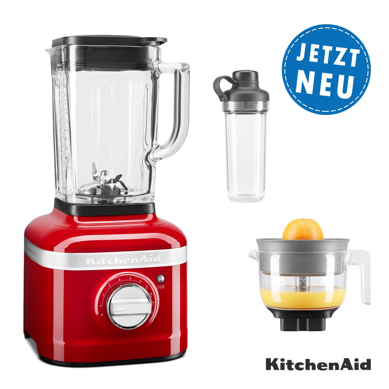 KitchenAidK400 Standmixer mit Zitruspresse und To-Go-Behälter