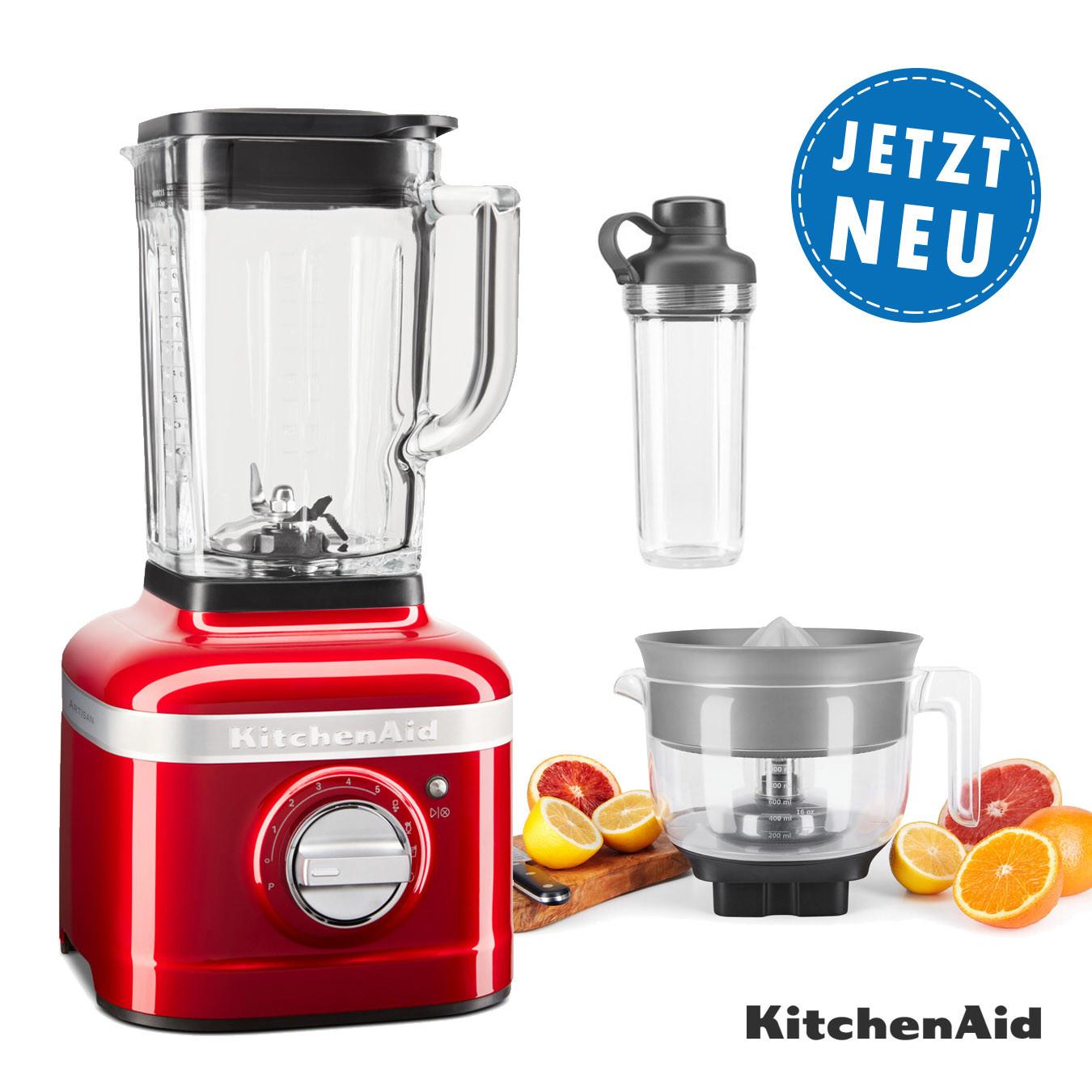KitchenAid ARTISAN K400 Standmixer 5KSB4026EER mit Zitruspresse